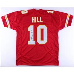 "Tyreek Hill Signed Chiefs Jersey Inscribed ""Cheetah"" (JSA Hologram)"