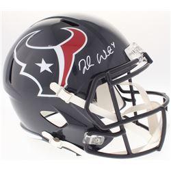 Deshaun Watson Signed Texans Full-Size Speed Helmet (JSA COA)