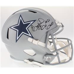 Ezekiel Elliott Signed Cowboys Full-Size Speed Helmet (Beckett COA)