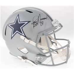 Jay Novacek Signed Cowboys Full-Size Speed Helmet (Radtke COA)