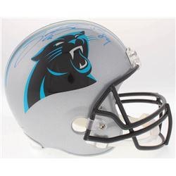 Steve Smith Sr. Signed Panthers Full-Size Helmet (Radtke COA)