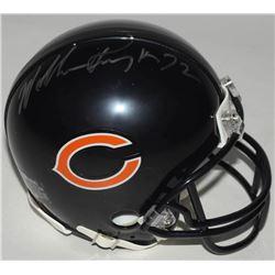 William Perry Signed Bears Super Bowl XX Mini Helmet (Schwartz COA)