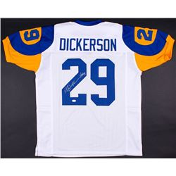 "Eric Dickerson Signed Rams Jersey Inscribed ""HOF 99"" (JSA COA)"