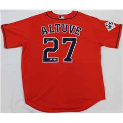 Jose Altuve Signed Astros Jersey (Fanatics  MLB Hologram)