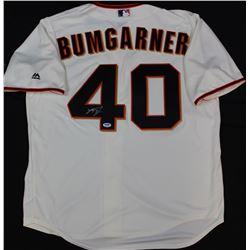 Madison Bumgarner Signed Giants Majestic Jersey (PSA COA)