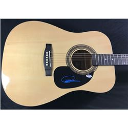 Dustin Lynch Signed Full-Size Rogue Dreadnought Acoustic Guitar (PSA COA)