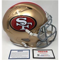 Jimmy Garoppolo Signed 49ers Full-Size Speed Helmet (Steiner COA  TriStar Hologram)
