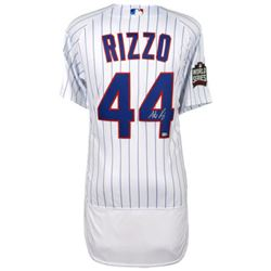 Anthony Rizzo Signed Cubs Jersey (Fanatics Hologram  MLB Hologram)