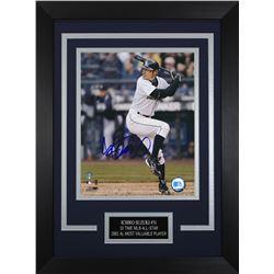 Ichiro Suzuki Signed Mariners 14x18.5 Custom Framed Photo Display (Suzuki COA)