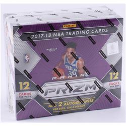 2017-18 Panini Prizm Basketball Cards Unopened Box of (12) Packs