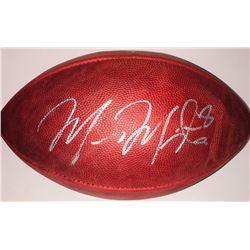 """Marcus Mariota Signed Wilson Official """"The Duke"""" NFL Game Ball (JSA COA)"""
