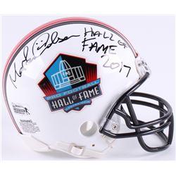 "Morten Andersen Signed Hall of Fame Commemorative Mini Helmet Inscribed ""Hall of Fame 2017"" (Radtke"