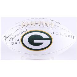 "Jerry Kramer Signed Packers Logo Football Inscribed ""H.O.F. 2018"" (Radtke COA)"