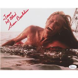 """Susan Backlinie Signed """"Jaws"""" 8x10 Photo Inscribed """"Jaws 1st Blood"""" (JSA COA)"""