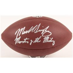 """Mike Singletary Signed NFL Football Inscribed """"Monsters of the Midway"""" (Schwartz COA)"""