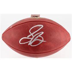 "Saquon Barkley Signed ""The Duke"" Official NFL Game Ball (JSA COA)"
