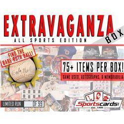 """EXTRAVAGANZA BOX"" All-Sports Edition! Game Used, Autographs  Memorabilia Mystery Box"
