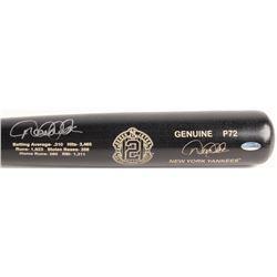 Derek Jeter Signed Louisville Slugger P72 Game Model Commemorative Stats Baseball Bat (Steiner COA