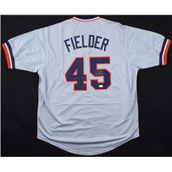 "Cecil Fielder Signed ""Big Daddy"" Tigers Jersey (JSA COA)"