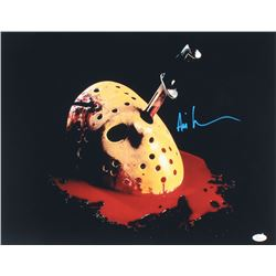 "Ari Lehman Signed ""Friday the 13th: The Final Chapter"" 16x20 Photo (JSA COA)"