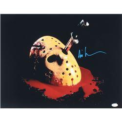 Ari Lehman Signed  Friday the 13th: The Final Chapter  16x20 Photo (JSA COA)