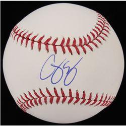 Corey Seager Signed OML Baseball (PSA COA  MLB Hologram)