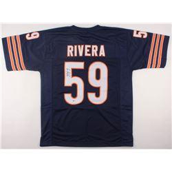Ron Rivera Signed Bears Jersey (Beckett COA)