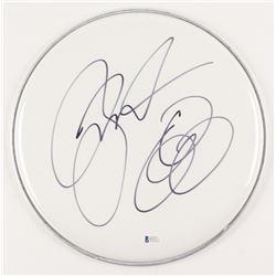 "Jason Bonham Signed 12"" Drum Head (Beckett COA)"
