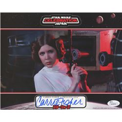 "Carrie Fisher Signed ""Star Wars"" 8x10 Photo (JSA COA)"