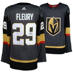 Marc-Andre Fleury Signed Golden Knights Adidas Jersey (Fanatics Hologram)