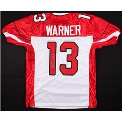 Kurt Warner Signed Cardinals Jersey (TriStar Hologram)