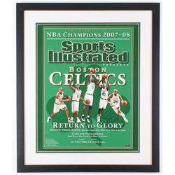 Paul Pierce Signed Celtics 22x26 Custom Framed Sports Illustrated Cover Photo Display (Steiner COA)