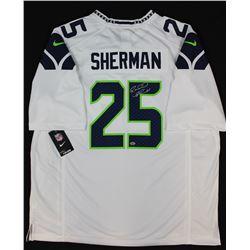 Richard Sherman Signed Seahawks Jersey (Sherman COA)