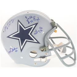 """Cowboys LE """"Doomsday I"""" Suspension Full-Size Helmet Signed By (4) With Bob Lilly, Jethro Pugh, Larry"""