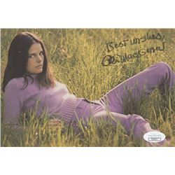 "Ali MacGraw Signed 5.5x8 Photo Inscribed ""Best Wishes"" (JSA COA)"
