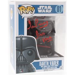 "David Prowse Signed ""Star Wars"" Darth Vader #1 Funko Pop! Vinyl Figure Inscribed ""Darth Vader"" (Beck"