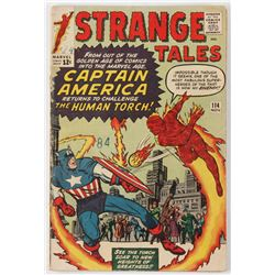 "1963 ""Strange Tales"" Issue #114 Marvel Comic Book"