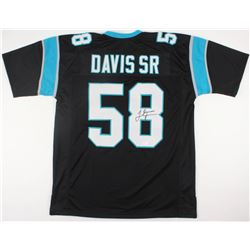 Thomas Davis Sr. Signed Panthers Jersey (JSA COA)