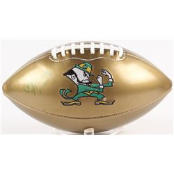 "Paul Hornung Signed Notre Dame Fighting Irish Logo Football Inscribed ""56 HT"" (Radtke COA)"