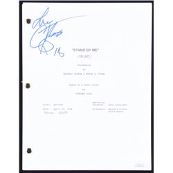 "Corey Feldman Signed ""Stand by Me"" Full Movie Script Inscribed ""Love""  ""18"" (JSA COA)"