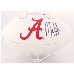 Mark Ingram Signed Alabama Crimson Tide Logo Football (Radtke Hologram)