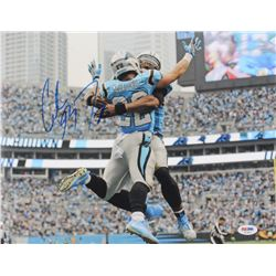 Christian McCaffrey Signed Panthers 11x14 Photo (PSA COA)