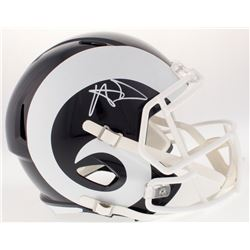Aaron Donald Signed Rams Speed Full-Size Helmet (PSA COA)