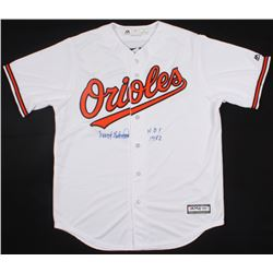 "Frank Robinson Signed Orioles Jersey Inscribed ""HOF 1982"" (PSA COA)"