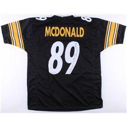 Vance McDonald Signed Steelers Jersey (TSE COA)