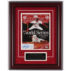 Mark Bellhorn Signed Red Sox Sports Illustrated Cover 15x19 Custom Framed Photo Display (Sure Shot P