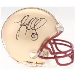 Luke Kuechly Signed Boston College Mini-Helmet (Radtke COA)