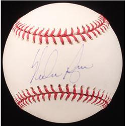 Nolan Ryan Signed OML Baseball (JSA COA)