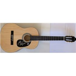"Mike Love Signed Full-Size Huntington Acoustic Guitar Inscribed ""Love"" (PSA COA)"