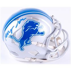 Kerryon Johnson Signed Lions Mini Speed Helmet (Radtke COA)